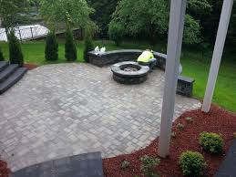 Patio Ideas Deck Ideas With Fire Pit For Majestic Concrete And