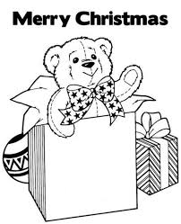 Small Picture Gifts For Christmas Coloring Pages For Kids Christmas Coloring