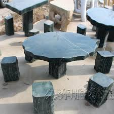 granite garden table and chairs get ations a long sculpture stone patio stone table and chairs granite garden table
