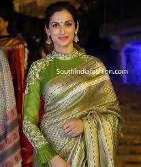 Green Saree With Pink Blouse Design Banarasi Saree Blouse Designs 15 Ultimate Blouse Patterns