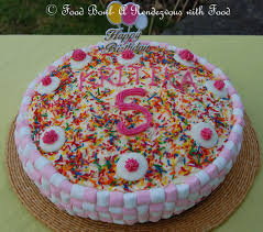Decorating With Sprinkles Home Made Birthday Cake Cakes Bakes And Beyond By Shradha