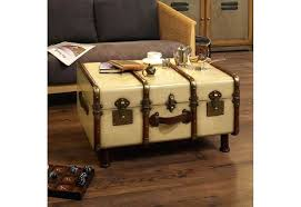 steamer trunk coffee table uk canada stainless steel