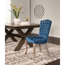 abbyson french vine velvet tufted dining chair