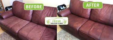 how to clean a faux leather sofa