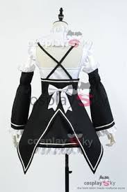 re zero life in a diffe world from zero ram outfit cosplay kostuem cosplaysky