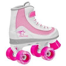 Roller Derby Firestar Girl Quad Skates 1978
