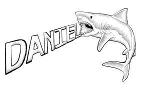 hammerhead shark clipart black and white. Contemporary Hammerhead Great White Shark Drawings And Hammerhead Clipart Black R