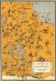 Animated Travel Map Vintage Animated Map Of Manitoba Canada 1929 Vintage