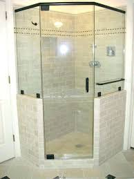 decoration beautiful shower stall ideas cool design of stalls with handicap walk in showers corner tile