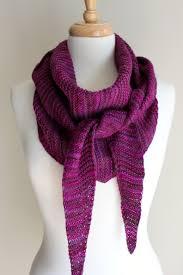 Triangular Scarf Knitting Pattern