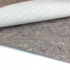 duo lock felt and rubber non slip area rug pad natural rubber rug pad home depot