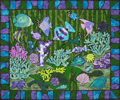 Jewels of the Sea Quilt Pattern & Jewels of the Sea Quilt Adamdwight.com
