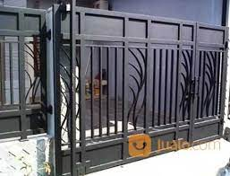 Model pagar besi minimalis terbaru 2021, pagar rumah mewah minimalis modern 2021, model pagar tembok minimalis 2021. Jasa Pembuatan Pintu Pagar Minimalis Harga Murah Di Balikpapan Balikpapan Jualo