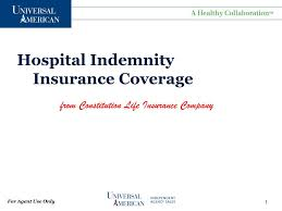 How can someone assess the value of my life? Ppt Hospital Indemnity Insurance Coverage Powerpoint Presentation Free Download Id 4863838