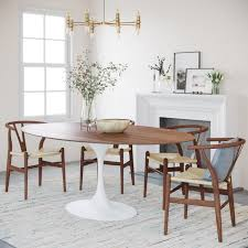 racetrack shaped dining tables