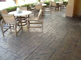 Stamped Concrete Kitchen Floor Home Epoxy Floors Polished Concrete Self Leveling Concrete