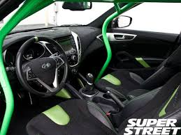 hyundai veloster interior. sstp 1111 03ark performance hyundai veloster sema 2011interior interior