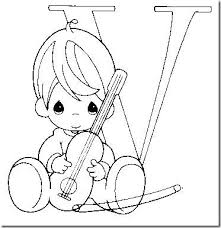 Small Picture 33 best precious moments alphabet coloring pages images on