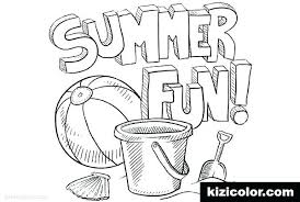fun printable coloring pages. Fine Coloring Summer Fun Printable Coloring Pages Preschool Sheets Free Beach Ball Page S In Fun Printable Coloring Pages N