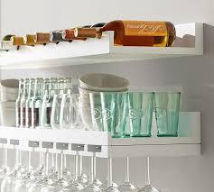 wine glass rack pottery barn. Plain Pottery Holman Entertaining Shelves To Wine Glass Rack Pottery Barn C