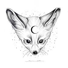 Fennec Fox Available For Tattooing Contact Office