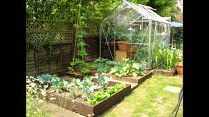 Small Kitchen Garden Design Ideas For Small Garden Greenhouse Youtube