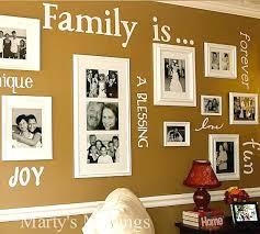 combine vinyl decals and family photos
