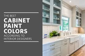 best colors to paint a kitchenThe Best Paint Colors for Kitchen Cabinets  Kitchn