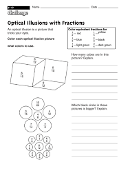 Core radiology a visual approach to diagnostic imaging (2013) pdf unitedvrg. Optical Illusions With Fractions Math Worksheet With Answers Printable Pdf Download