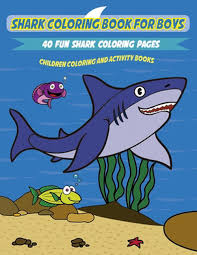 Frilled shark coloring fact sheet. Shark Coloring Book For Kids A Fun And Unique Collection Of Shark Coloring Page 9781989626320 Ebay