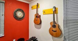easy diy guitar wall mount photos