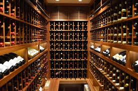 canada contemporary home wine cellar project  custom wine cellars
