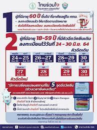 ศูนย์ข้อมูล COVID-19 - 🟢 UPDATE 🟢 นัดหมายฉีดวัคซีนจากเพจ ไทยร่วมใจ  กรุงเทพฯ ปลอดภัย Safe Bangkok 👉 มีการเปลี่ยนแปลงสถานที่ ใน 5 จุดฉีดวัคซีน  (ช่วงเวลายังคงเดิม) . 1.จุดฉีด เดอะสตรีท รัชดา ย้ายไปฉีดที่ จุดฉีด scb  สำนักงานใหญ่ 2.จุดฉีด ธัญญาพาร์ค ย้าย ...
