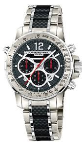 7800 tcf 05207 raymond weil nabucco titanium case mens watch