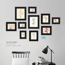 Wall Design Photos Gallery 10pc Gallery Wall Set Q53 Century Black Gallery Wall