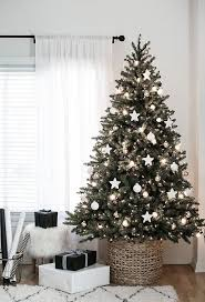Excellent Christmas Trees Decorated In White 47 On Home Design Online With  Christmas Trees Decorated In