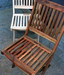 refinishing teak wood patio furniture