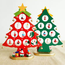 Wooden Tabletop Christmas Tree Decorations Accessories DIY Handcrafted  Decorative Tree Decoration Christmas Party Supplies Christmas Party