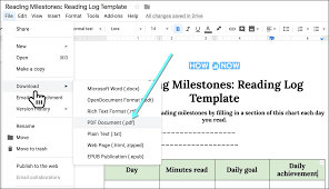 Reading Log Template How To Maintain Your Book Log In