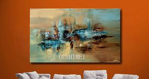 100% Handmade Abstract Oil Painting Large Wall Art On Canvas High Quality  Hang Paintings Art