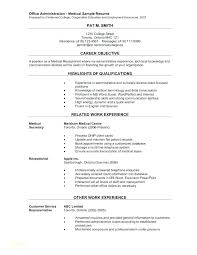 Medical Assistant Resume Examples Stunning Resume Template Medical Assistant Resume Templates Medical Resume