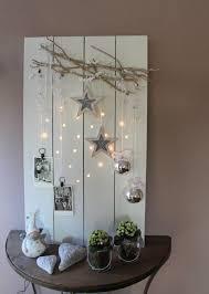 Wonderful Rustic Winter Decorating Light Board
