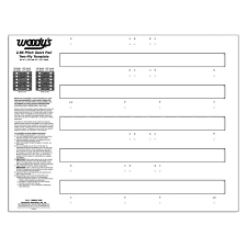 286 Quiet Pad Template Woodys Traction