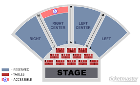 Seating Charts Leo Rich Theater