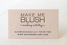 make a statement makeup artist business cards