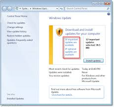 How To Update Windows 7 How To Update Windows 7 Automatically With Windows Update