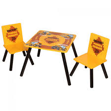 table and chairs top view. Kidsaw, JCB Muddy Friends Table \u0026 2 Chairs - Top View And E