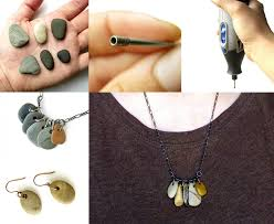 drilled natural stone jewelry