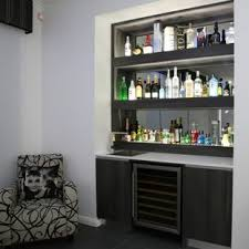 modern home bar furniture. Example Of A Minimalist Home Bar Design In Sydney Modern Furniture