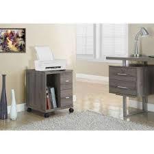 printer stand file cabinet. Dark Taupe File Cabinet Printer Stand